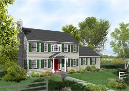 Colonial House With Farmers Porch Classic Portico On Brick Colonial Traditional Entry Porch Roofs