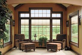 ideas tips bay pella windows with wheat wall ideas pella windows matched with orange wall plus sofa and white flooring for family room decor ideas