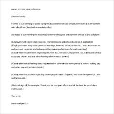 15 letter of employment templates u2013 free sample example format