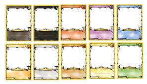game board template 8 free pdf documents download free mtg card