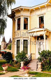 italianate style house italianate style architecture stock photos italianate style