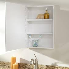 kenilworth stainless steel recessed medicine cabinet white