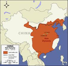 Great Wall Of China On Map by Qin To Ming