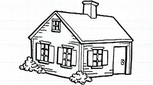 house to draw easy house drawing processcodi com