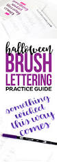43 best hand lettering basics images on pinterest brush