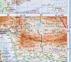 Map Of Yemen Saudi Arabia Bahrain Kuwait Oman Qatar United Arab Emirates