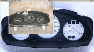 nissan micra k11 parts nismo 180kmh 8 000rpm gauge cluster nissan march micra youtube