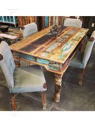 Indian Dining Chairs Upholstered Dining Set Upholstered Reclaimed Dining India