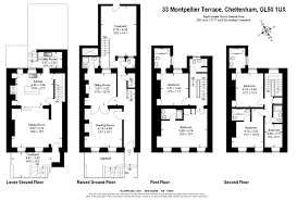 the montpellier town house stay and celebrate in regency style floorplan