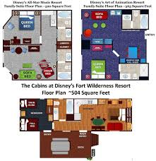 all star music resort family suites at disney world are these
