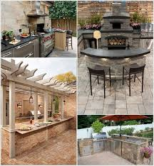 Outdoor Bbq Kitchen Ideas 29 Awesome Outdoor Barbecue Kitchen Ideas