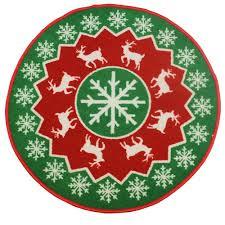 jvl festive green tree reindeer snowflake design machine