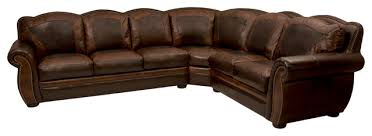 western style sectional sofa top rustic leather sofa with western themed leather sectional rustic