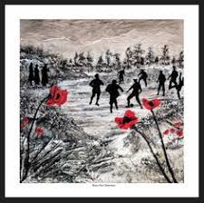 Blind Veterans Of America Painting Of Remembrance