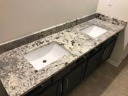 Granite Vanity Tops With Undermount Sink Bathroom Vanity Top Hesano Brothers