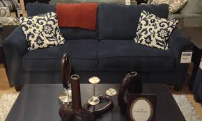 Ashley Leather Sofa And Loveseat Keendre Indigo Sofa At Ashley Furniture In Tricities Metro
