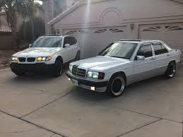 lowered mercedes 190e 1991 mercedes 190 u0026 2005 bmw x3 mercedes benz 190e pinterest