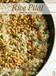 rice pilaf recipe a dish of daily