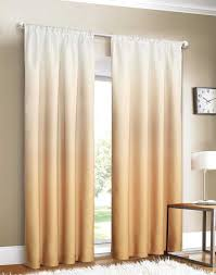 Ombre Ruffle Shower Curtain Yellow Ombre Curtains