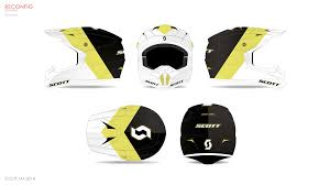 scott motocross helmet scott mx u2014 graphics on behance