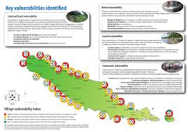Solomon Islands Map Ecosystem Based Adaptation And Climate Change Vulnerability