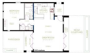 Custom Floor Plan Casita Floor Plans Casita Plan Small Modern House Plan 61custom