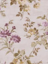 purple and pearl agathius floral wallpaper traditional