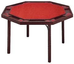 poker table with folding legs kestell octagon poker table with folding legs