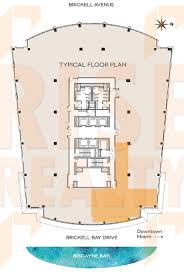 Skyline Brickell Floor Plans 1111 Brickell Avenue Suite 2600 Miami Fl 33131 Office Sublease