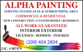 local residential painting contractor in modesto ca alpha