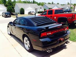 dodge charger louvers rear window louver by willpak dodge charger forums