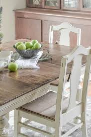 antique dining room table chairs antique dining table updated with chalk paint anderson grant