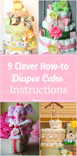 9 clever how to make a diaper cake instructions tip junkie