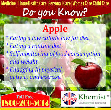 apple 1 eating a low calorie low fat diet 2 eating a routine