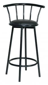 Black Swivel Bar Stool Black Leather Bar Stools With Backs That Swivel With Cool Stools