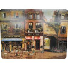 pimpernel bistro cafe placemats set of 4 from