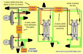 wiring diagram for multiple lights power into light google