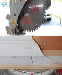cutting crown molding angles kitchen cabinets