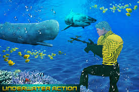 flying aqua hero vs sea animals android apps on google play