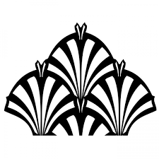 art deco simple pattern