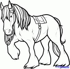cartoon horse coloring printable horse coloring pages 537