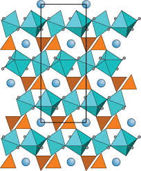 crystal structures of the hydrothermally synthesized chromates