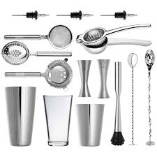 cocktail set ultimate professional cocktail set luxury japanese steel barware