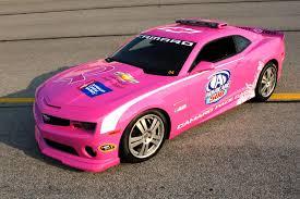 pink cars 2012 chevrolet pink camaro pace car conceptcarz com