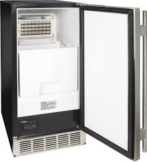 haier hi50ib20ss 15 inch freestanding built in ice maker with 50