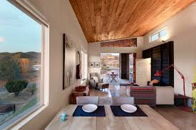 modern cabin interior highly crafted modern desert cabin idesignarch interior design
