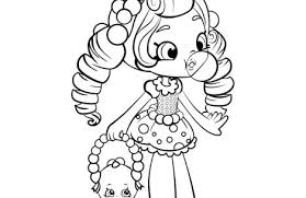 shopkins coloring pages girls colorings