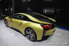 lexus bmw supercar bmw i8 protonic frozen yellow edition showcased at iaa 2017 live