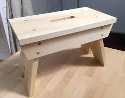 Making A Wood Desktop by Step Up Stool