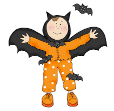 free dearie dolls digi stamps halloween bat boy